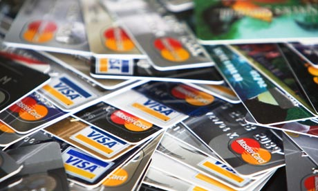 guardian.uk.co credit card pile