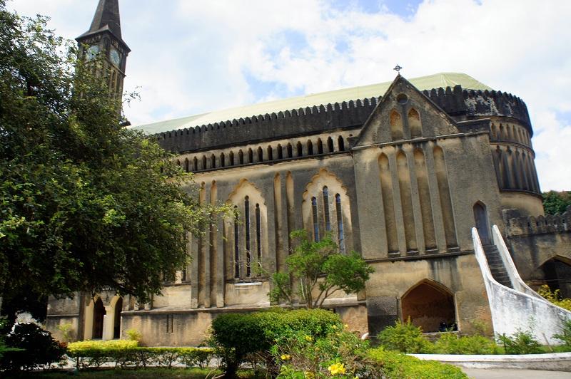 Stone Town, Zanzibar Slave Market Cathedral