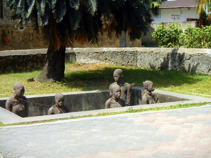 Stone Town - Place where slaves were actioned